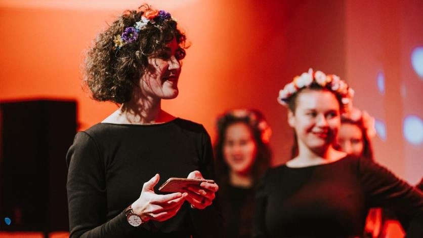 Veronika Veverková: Dirigent musí byť pred súťažou v psychickej pohode