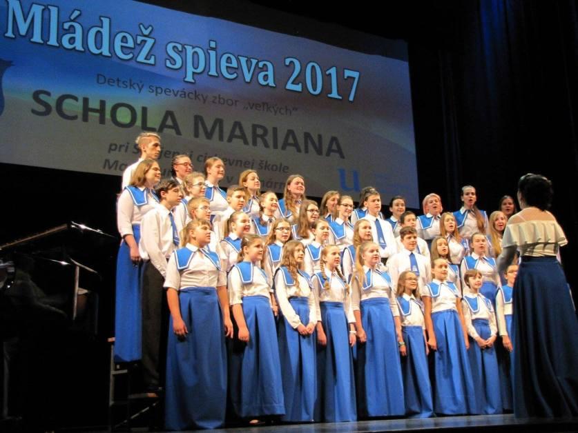 Podujatie Mládež spieva zverejnilo propozície