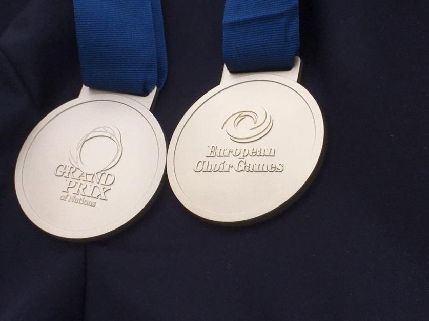 Slovenské zbory získali ďalšie cenné kovy