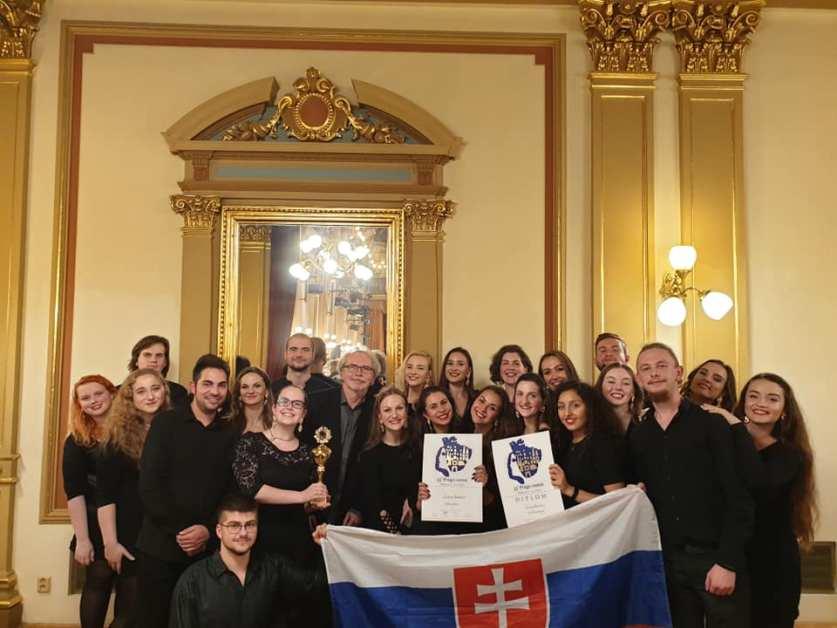 Zlato i cena za dramaturgiu. Slovenský spevácky zbor opäť uspel v medzinárodnej konkurencii