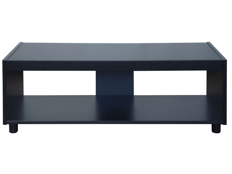 devaise meuble tv bibliotheque 2 modules 55 9 a 152 4 cm 15 mm noir
