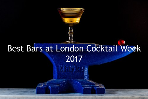 Best Bars at London Cocktail Week 2017