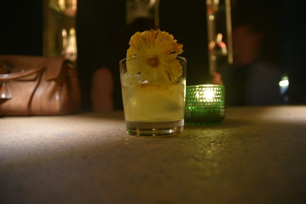 Takamaka Rum Sour Oblix at The Shard, Takamaka Tiki Takeover with Jamie Jones