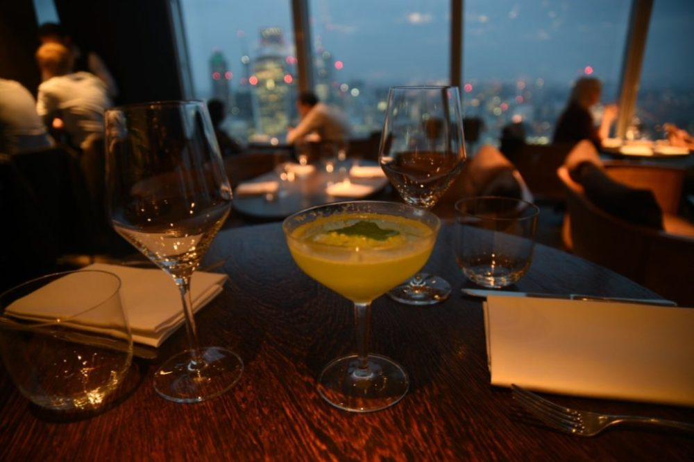 Pea & Mint Old Cuban Oblix at The Shard, Takamaka Tiki Takeover with Jamie Jones