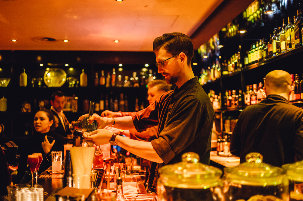 Linje Tio, Sweden's Best Bar pops up in 100 Wardour Street London Soho