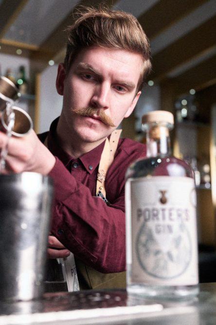 Porter's Gin Jack Wareing