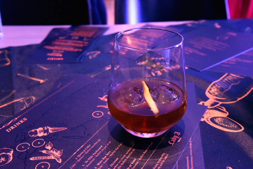 Lady Abercorn Launches Bulleit Bourbon Tattoo Menu at Andaz Hotel