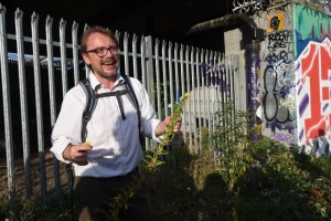 Urban Foraging with Jägermeister & (the other) Andy Hamilton