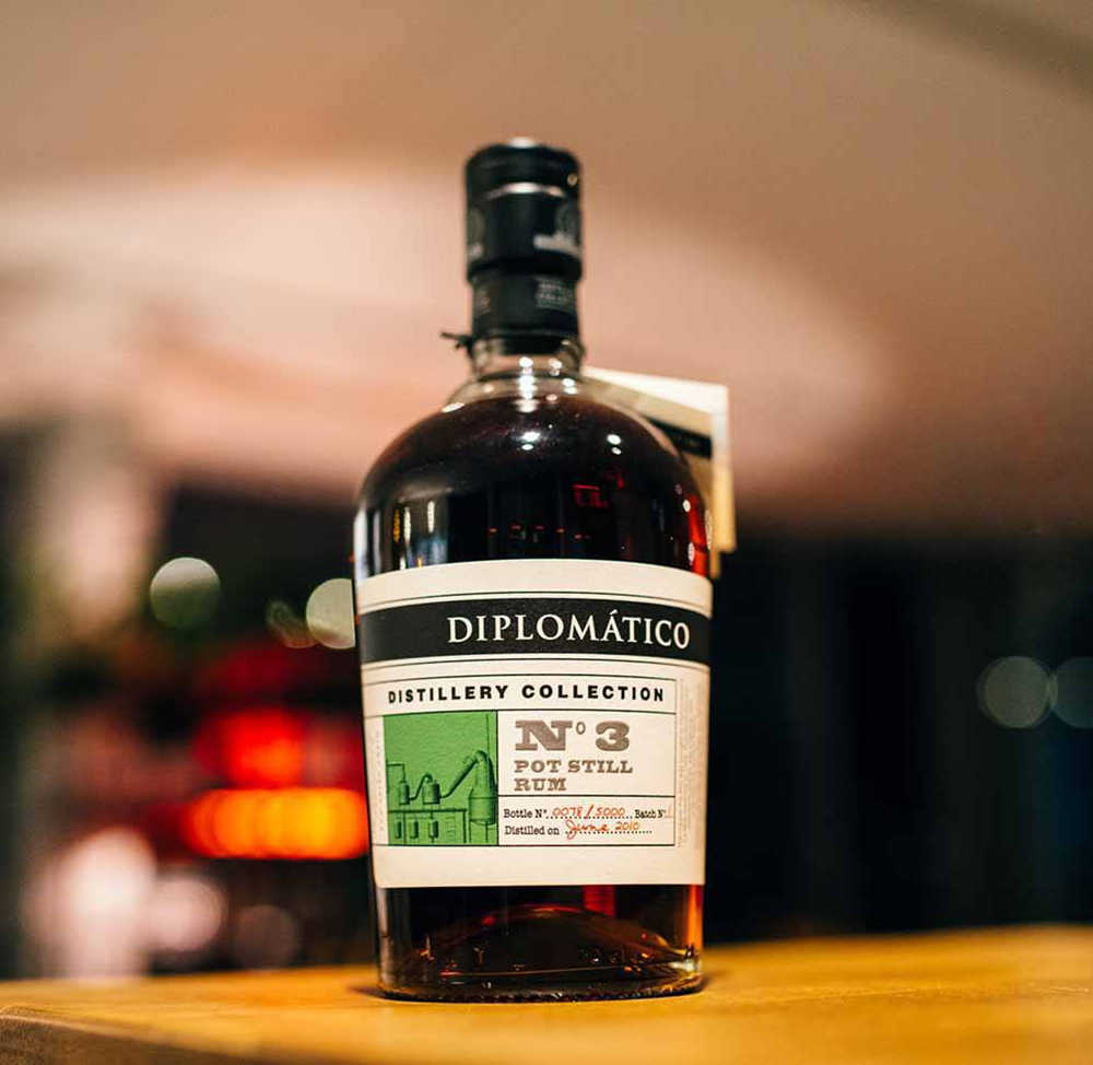 Diplomático Rum Distillery Collection No.3 Launch event