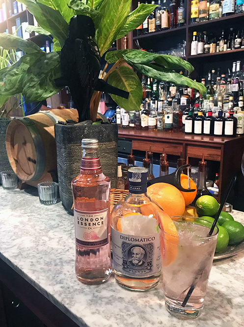 Diplomático Rum Distillery Collection No.3 Launch event cocktail