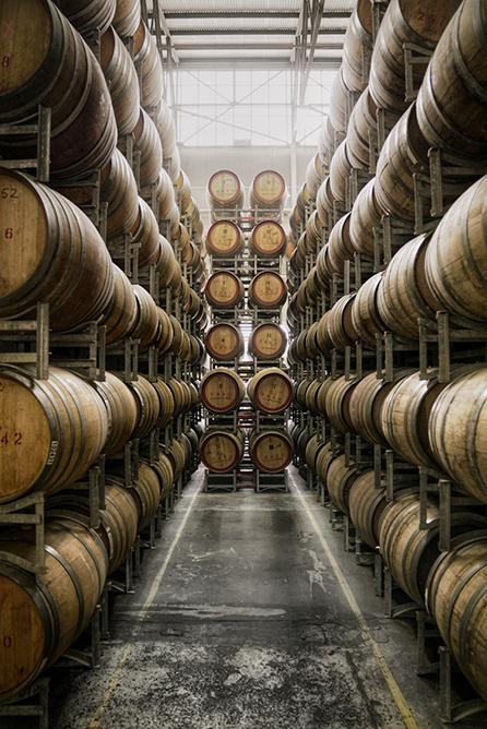 Starward Whisky barrrels