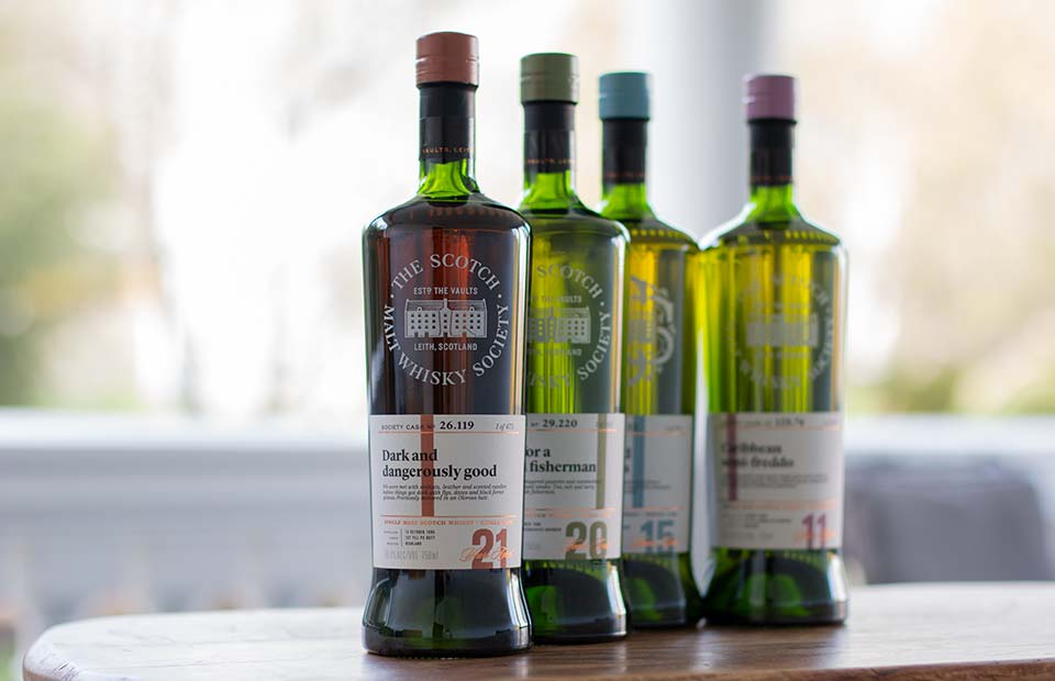 SMWS bottlings on show