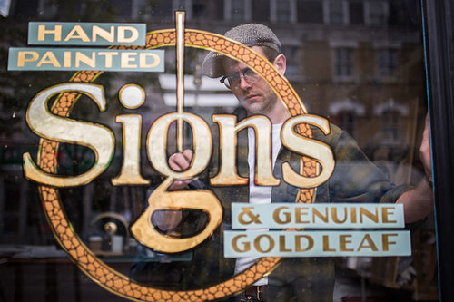 Ged Palmer, The Luminor Sign Co.