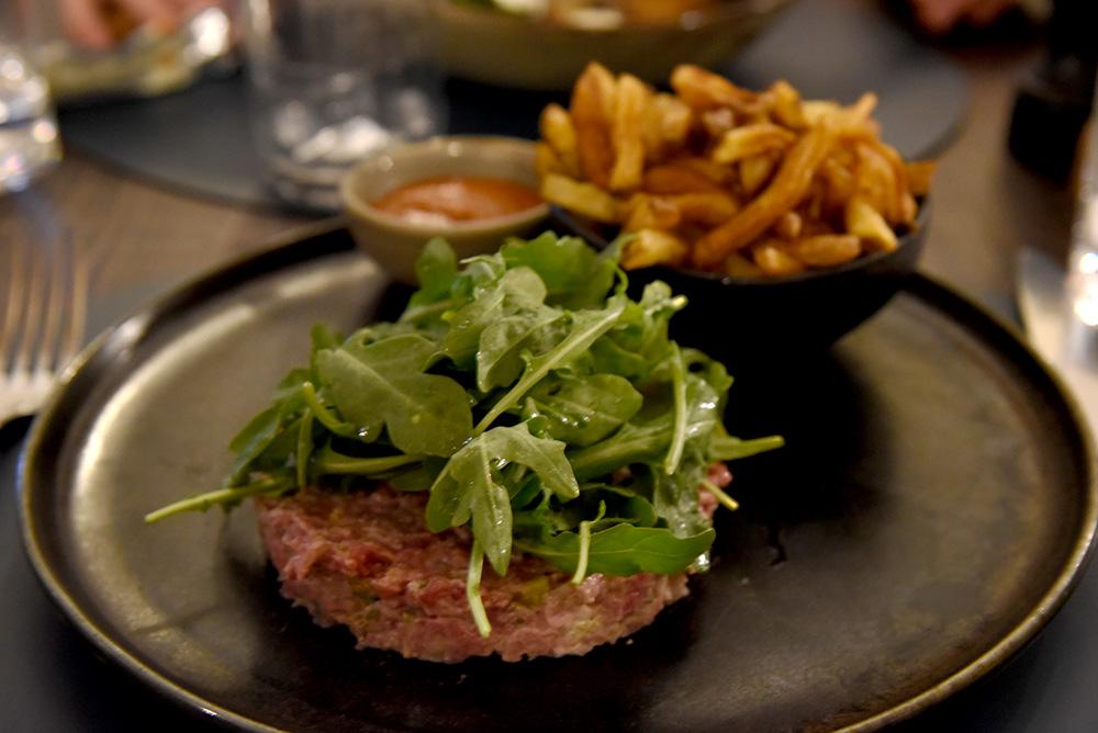 Beef Tartare, La Distillerie, Hotel Chais Monnet