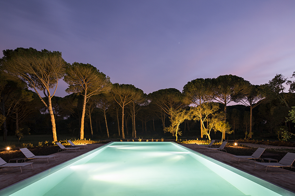 Sublime Spa outdoor pool
