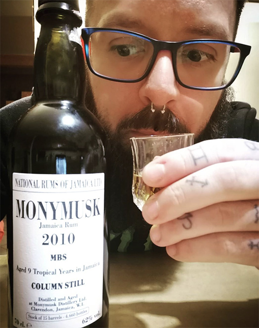 Daniele with Monymusk 2010