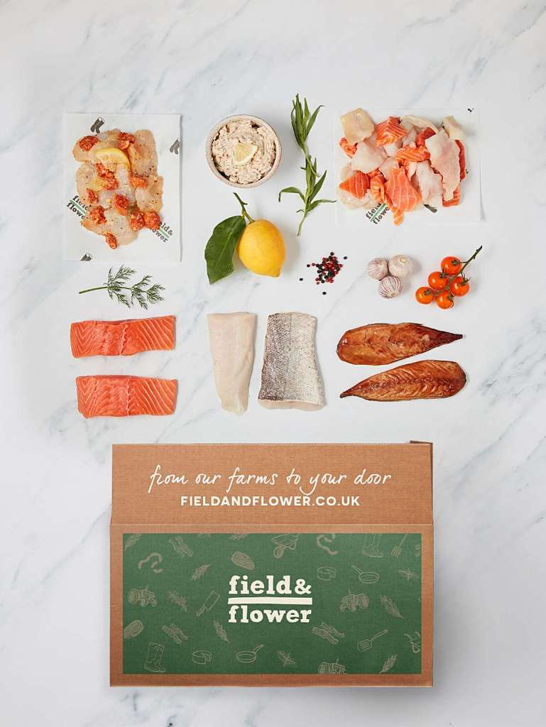 Sustainable Fish Box (one-two people; 16 servings)