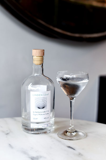 Linden Leaf Singularity vodka ©SatedOnline