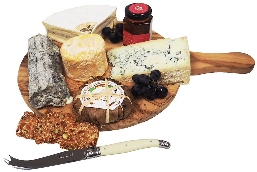 Artisan French Cheese Board Selection