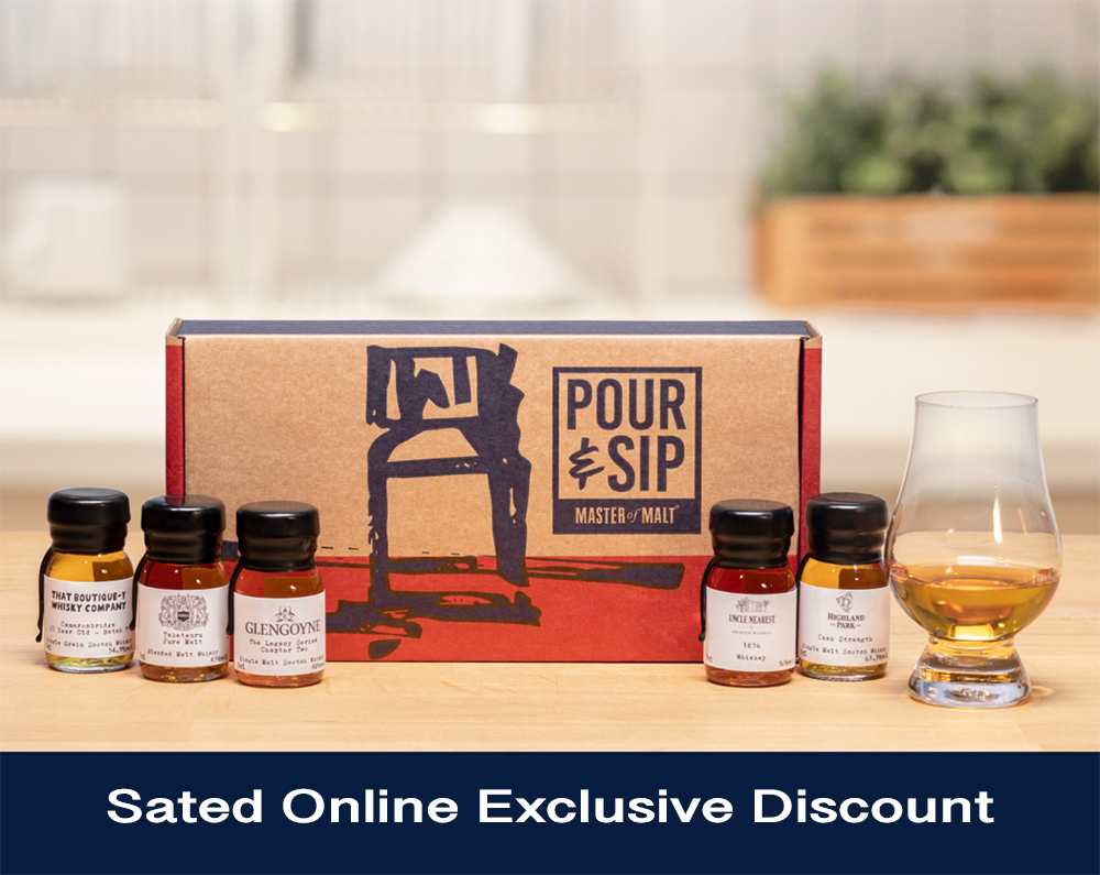 Sated Online Exclusive Discount Pour & Sip