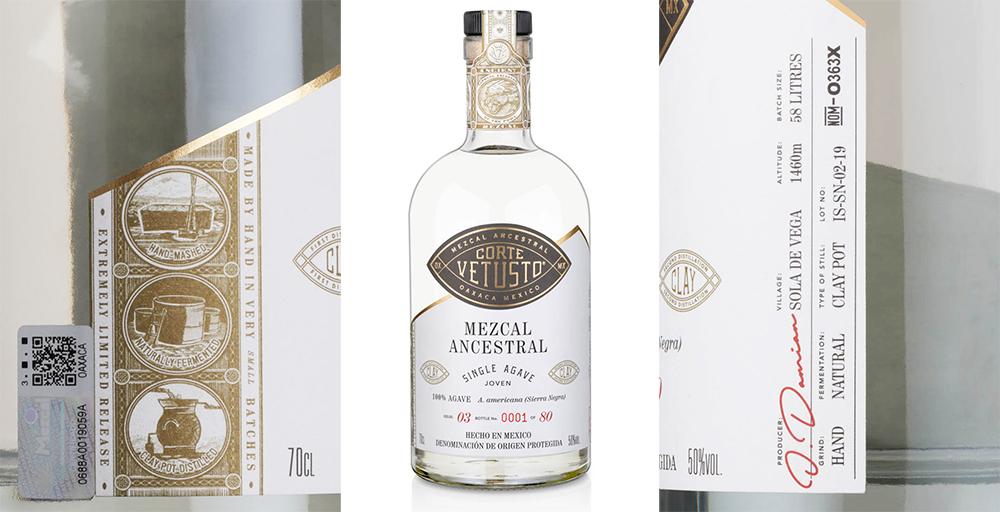 Corte-Vetusto-Ancestral-mezcal-bottle-label-sated-online