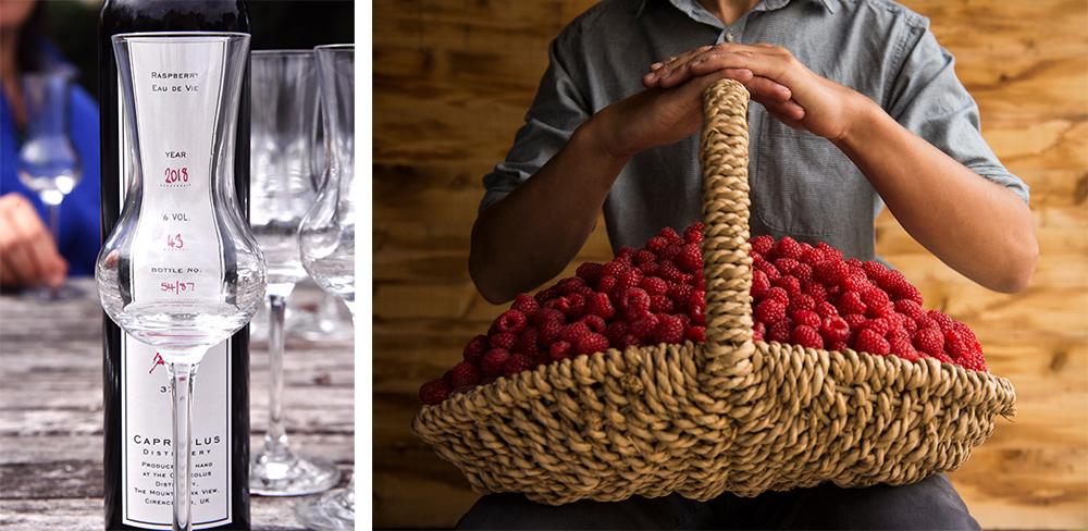 Capreolus Distillery raspberry eau de vie ©SatedOnline