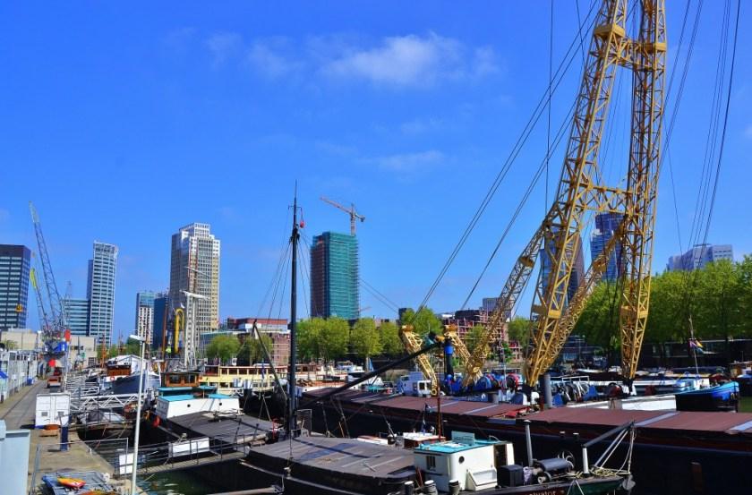 Rotterdam Harbor, The Netherlands