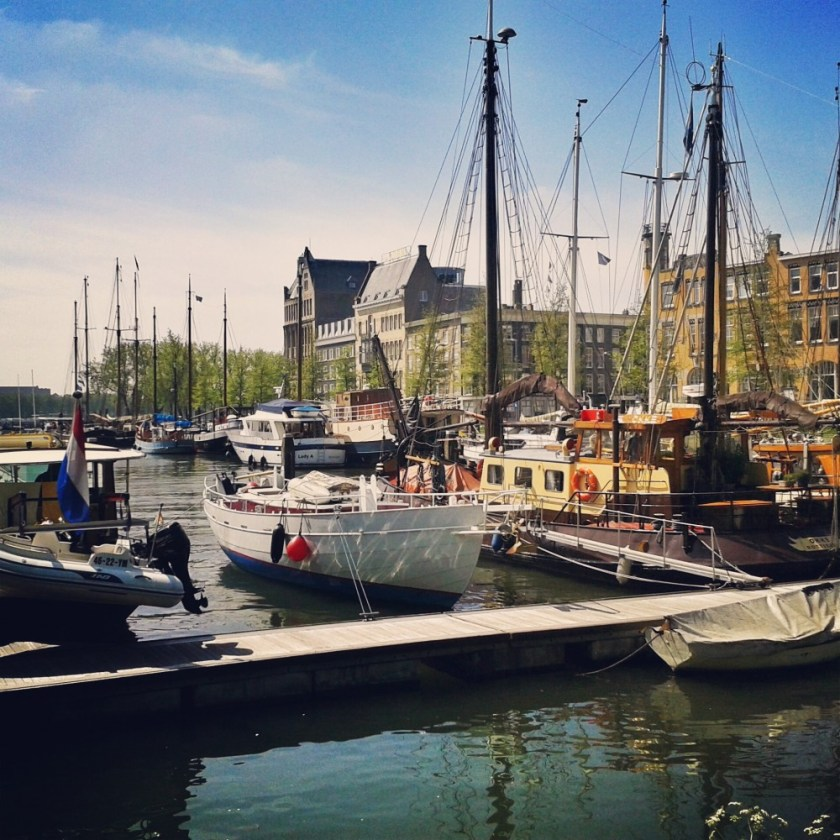 Old harbor of Rotterdam, The Netherlands