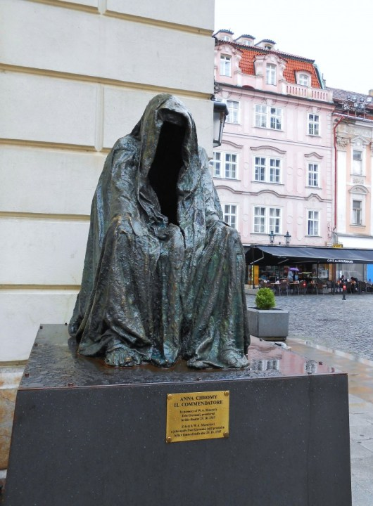 Mozart Statue in Prague