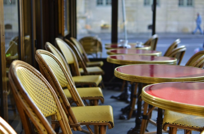 Café in Paris, France