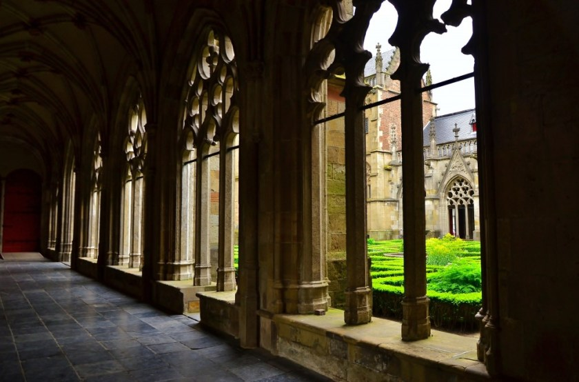 Cloister in Utrecht, Holland