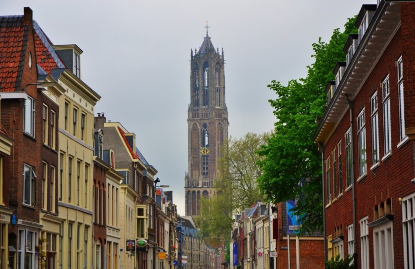 The cathedral tower of Utrecht, The Netherlands