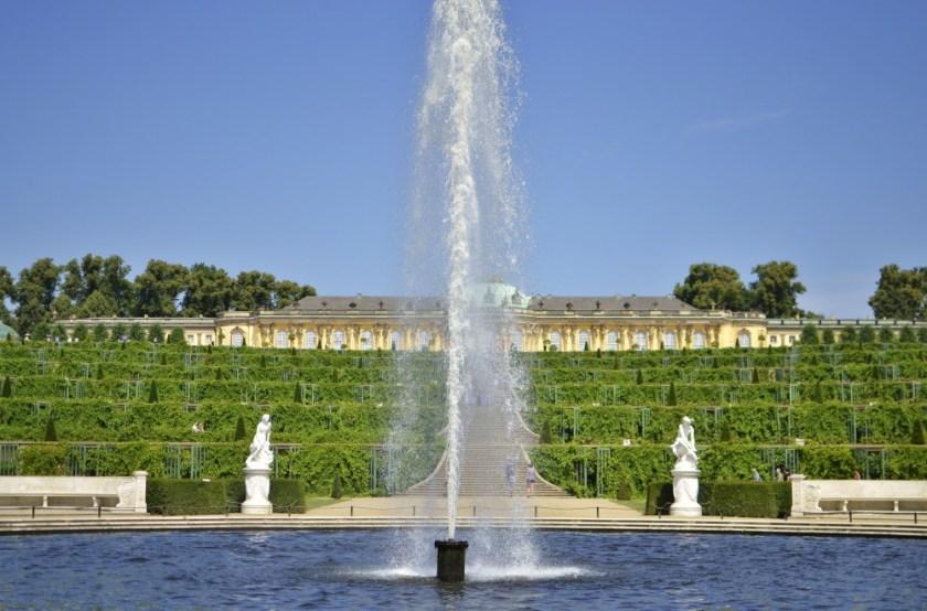 Palace Sanssouci, Potsdam, Germany