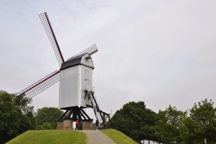 Windmill in Bruges, Belgium