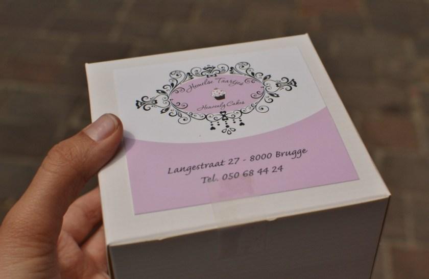 Cupcake in Bruges, Belgium