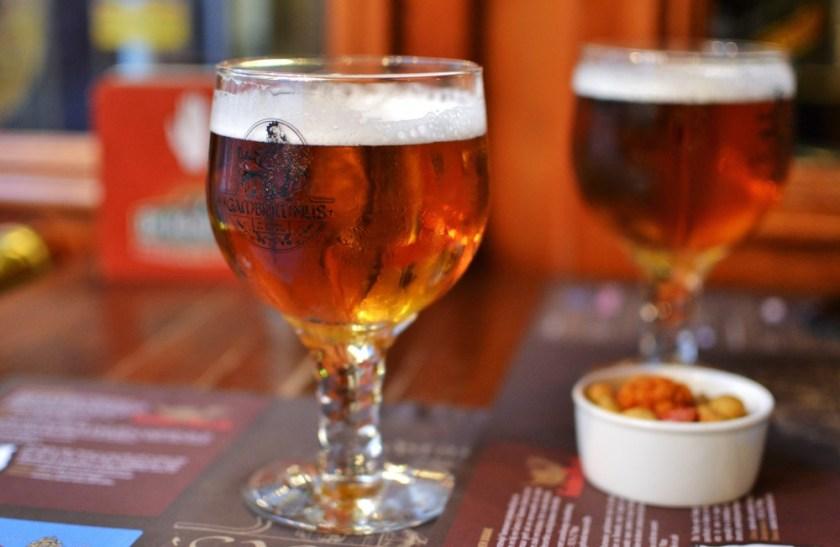Beer in Bruges, Belgium