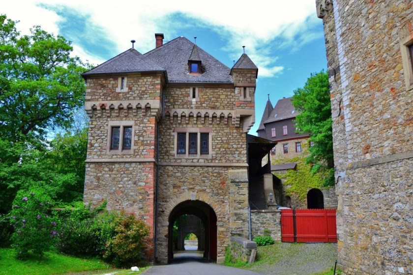 The castle of Braunfels, Hesse, Germany