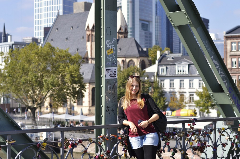 Eiserner Steg, Frankfurt, Germany