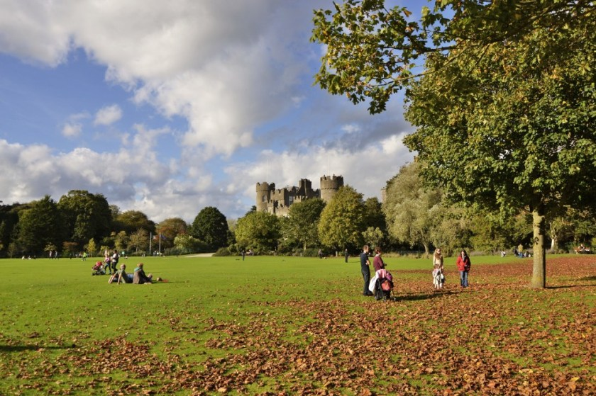 Fall day in the park, Malahide, Ireland