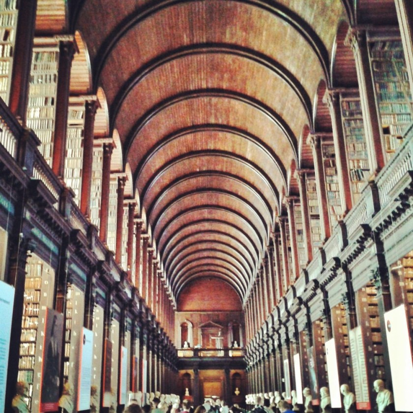 The Long Room, Trinity College, Dublin, Ireland