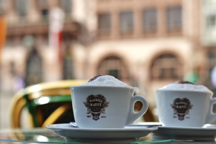 Coffee in Frankfurt, Germany