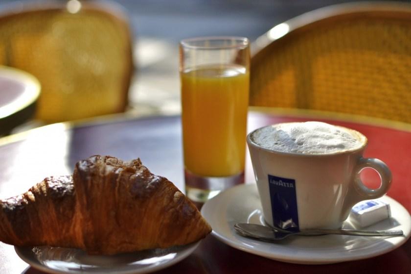 Breakfast in Paris, France