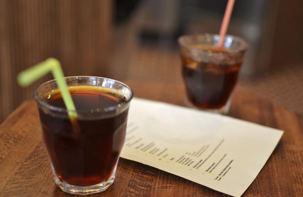 Australian iced coffee, Paris, France