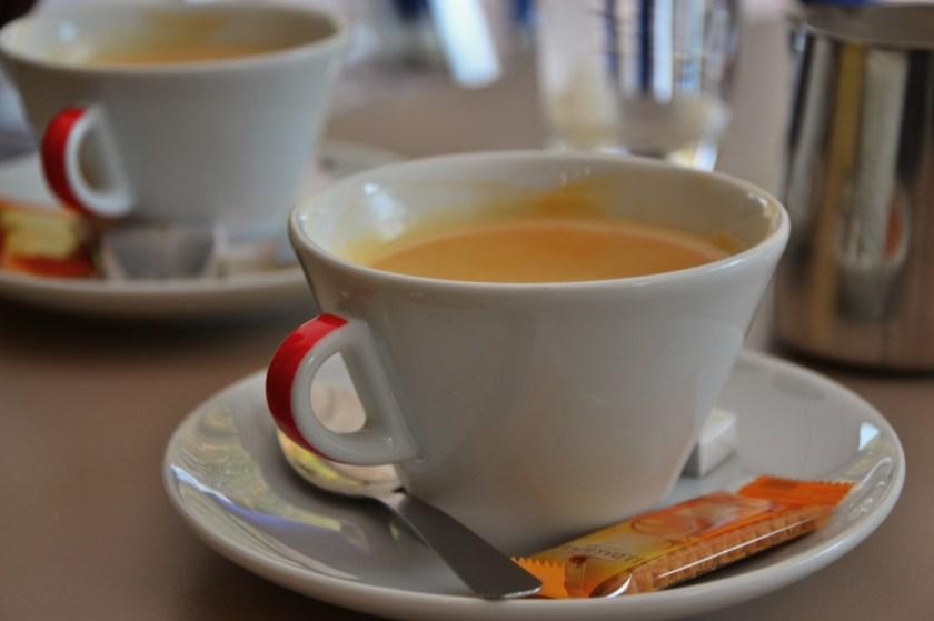 Coffee in Colmar, France