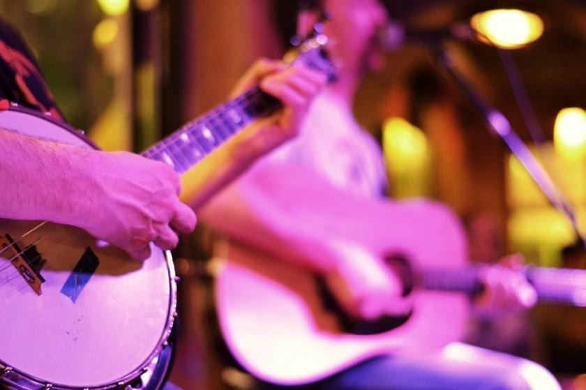 Irish live music at a pub in Dublin, Ireland