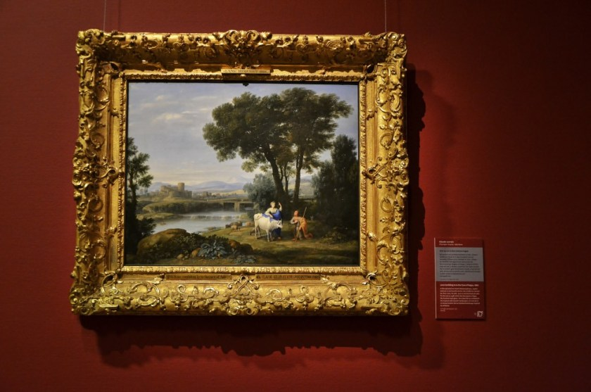 Claude Lorrain at the National Gallery, Dublin, Ireland
