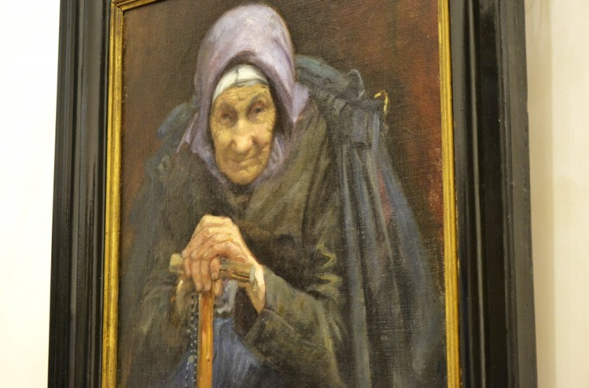 Painting by an Irish artist, National Gallery, Dublin, Ireland