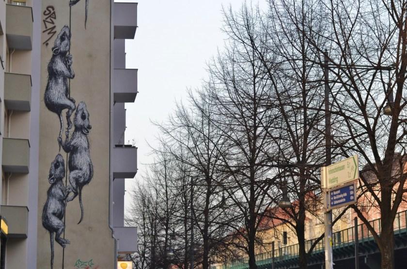 ROA rats, Schönhauser Allee, Berlin