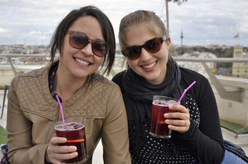 Jessica & Julika in Madrid, Spain