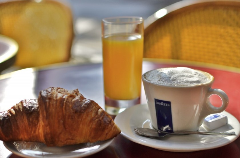 Breakfast in Paris, France